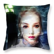 Astrid Has A Secret, She Wouldn't Say A Word Throw Pillow