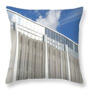 Astrodome Throw Pillow