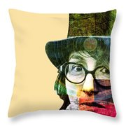 Astrologer Throw Pillow