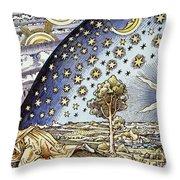 Astrology, 16th Century Throw Pillow