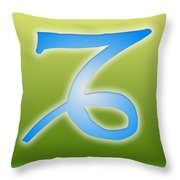 Capricorn December 21 - January 19 Sun Sign Astrology  Throw Pillow