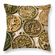 Astrology Charms Throw Pillow