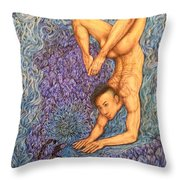 Astrology Zodiac Sign Scorpio  Throw Pillow