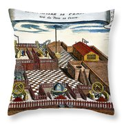 Astronomical Observatory Throw Pillow