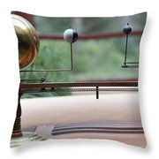 Astronomy Falling Water Throw Pillow