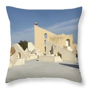 Astronomy Of Giants. Jantar Mantar. Throw Pillow