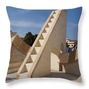 Astronomy Of Giants. Rasivalaya. Throw Pillow
