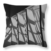 Asylum Windows Throw Pillow