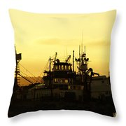 At Days End Throw Pillow