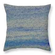 At Evening Anchor Throw Pillow