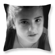 At Fourteen Throw Pillow