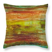 At Low Tide Throw Pillow