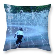 At Play Throw Pillow