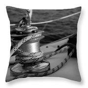 At Sail Throw Pillow