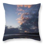 At Sundown 12/24/15 Throw Pillow