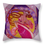 At The Ball Throw Pillow