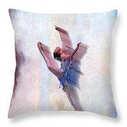 At The Ballet Throw Pillow