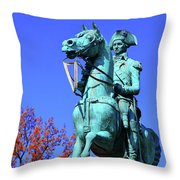 At The Battle Of Princeton Throw Pillow
