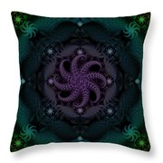 At The Bottom Of The Sea Are Peridots Throw Pillow