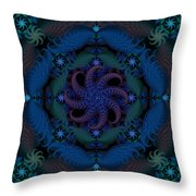 At The Bottom Of The Sea Throw Pillow
