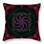 At The Bottom Of The Sea Are Rubies Throw Pillow