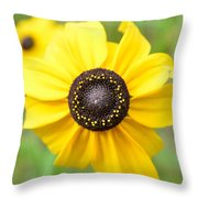 At The Center Of A Flower Throw Pillow