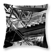 At The Clark V Throw Pillow