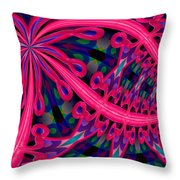 At The Copa Throw Pillow