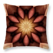 At The Core Throw Pillow