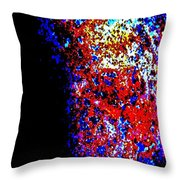 At The Edge Of Darkness Throw Pillow
