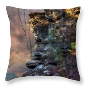 At The Edge Of The Earth Throw Pillow