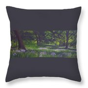 At The Edge Of The Forest  Throw Pillow