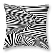 At The End Of The Knot Throw Pillow