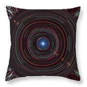 At The End Of The Tunnel 2 Throw Pillow
