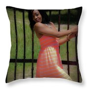 At The Gates Throw Pillow