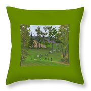 At The Hunt Throw Pillow