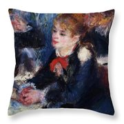 At The Milliner S Throw Pillow