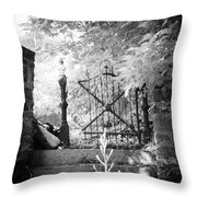 At The Old Gate Throw Pillow
