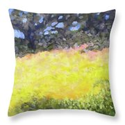 At The Plateau Throw Pillow