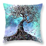 At The Root Of All Things Throw Pillow