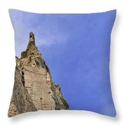 At The Scarborough Bluffs  Throw Pillow