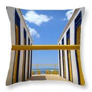 At The Seashore 2 Throw Pillow