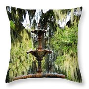 At The Square Throw Pillow