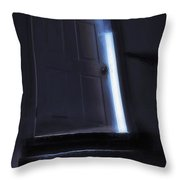 At The Top Of The Stairs Throw Pillow