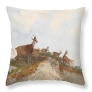 At The Vanguard Throw Pillow