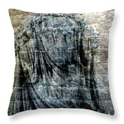 At The Wall Throw Pillow