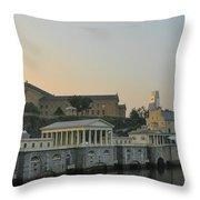 At The Waterworks - Phildelphia Throw Pillow
