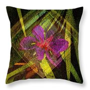 At The Window....... Throw Pillow