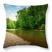 At Waters Edge Throw Pillow