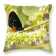 Atala Throw Pillow